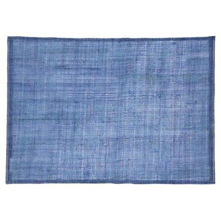Linne Spisebrikke Blå 45 x 32 cm
