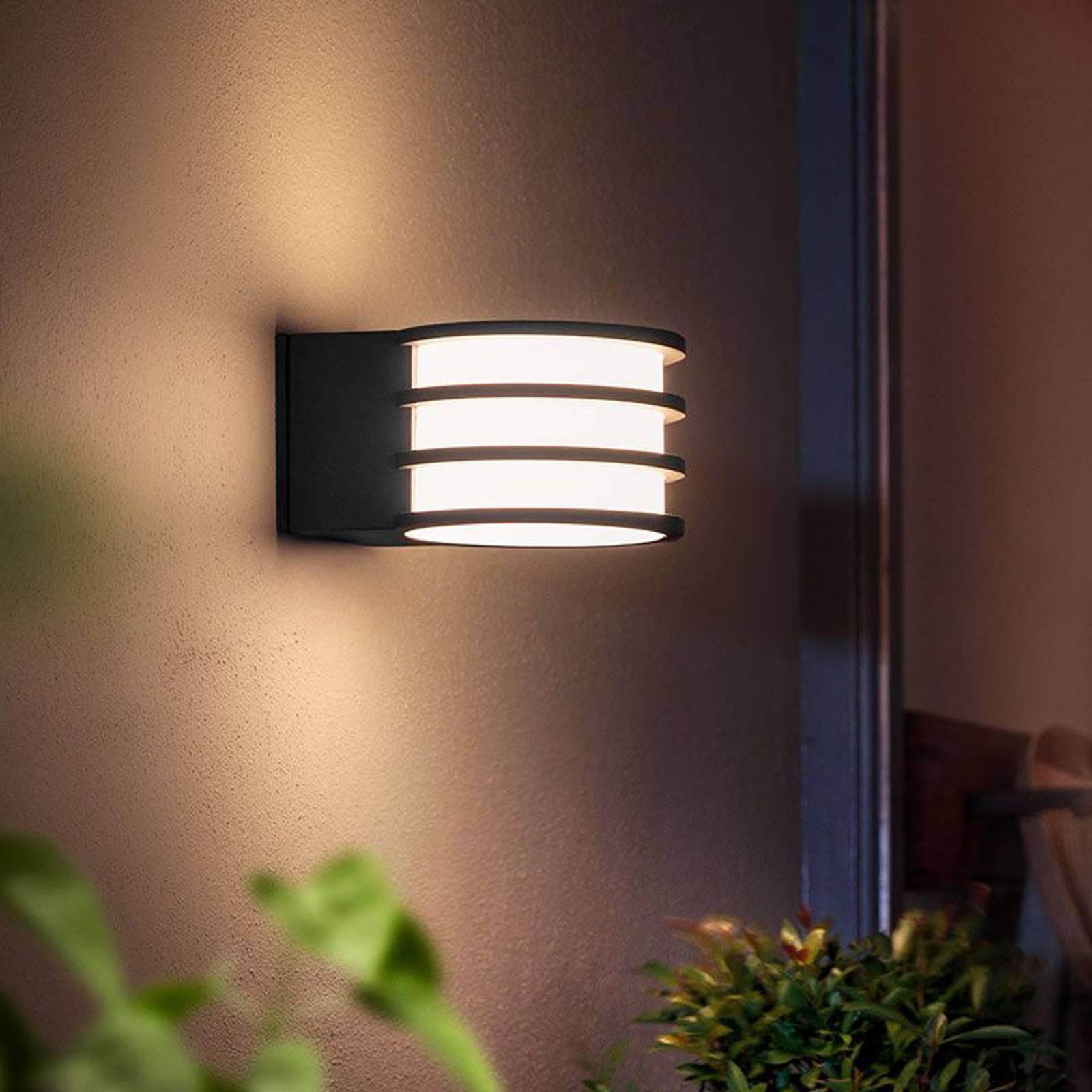 Philips Hue -LED-ulkoseinälamppu Lucca