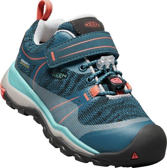 KEEN Terradorra Low WP Sneaker, Aqua Sea/Coral 24