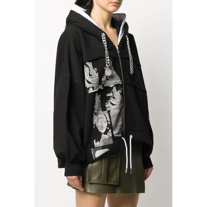 Diesel Women's Sweatshirt Black 298741 - black XS