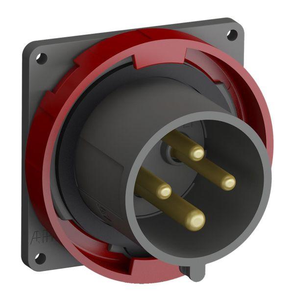 ABB 2CMA101279R1000 Kojevastake IP67 Punainen, 32 A, 4-napainen, 91 mm