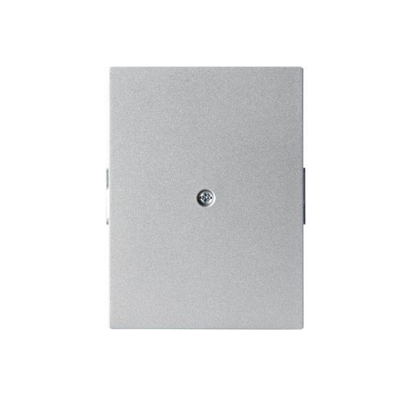 ABB Impressivo Midtplate 85 x 100 mm Aluminium