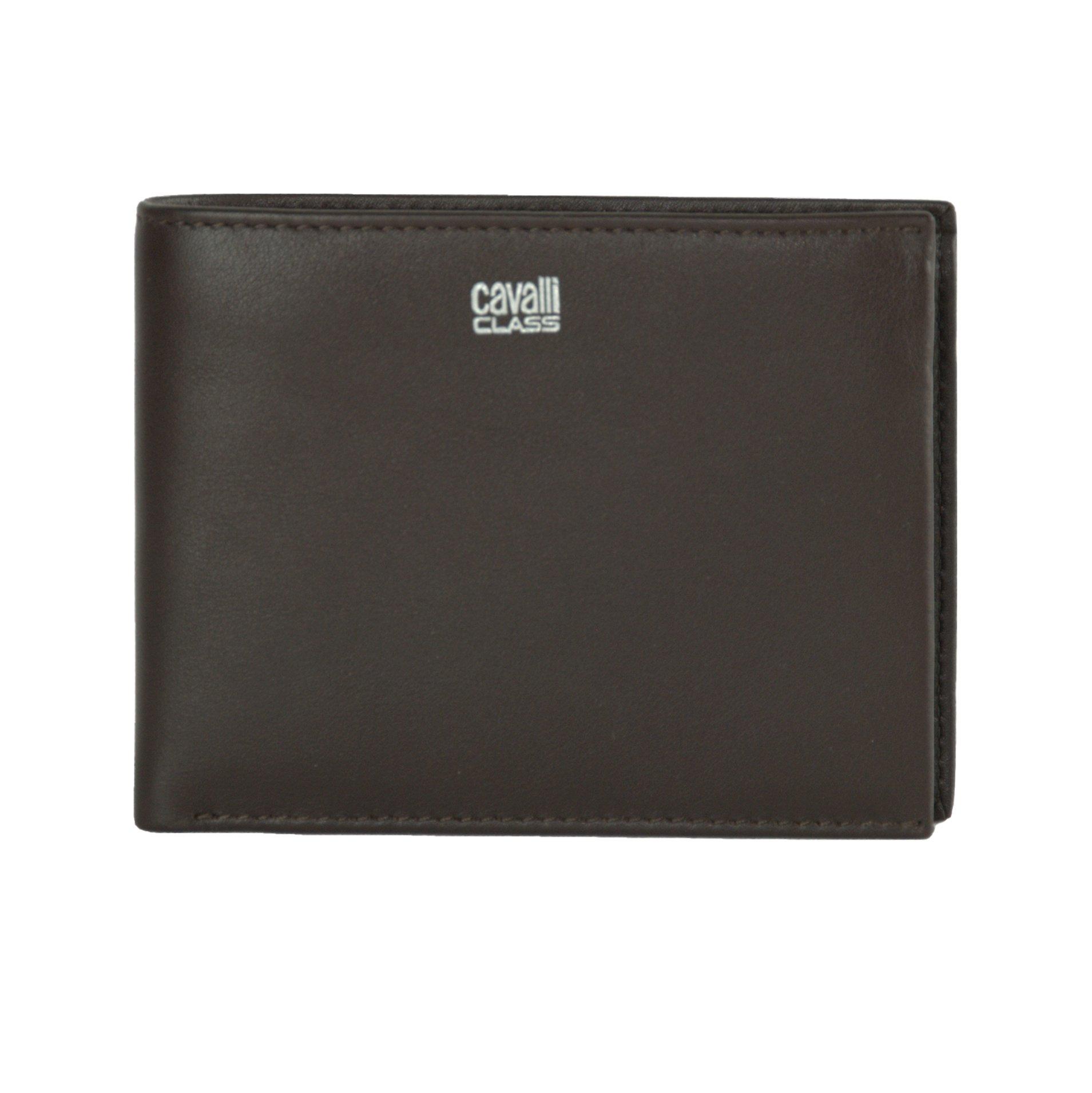 Cavalli Class Men's Wallet Dark Brown CA1432667