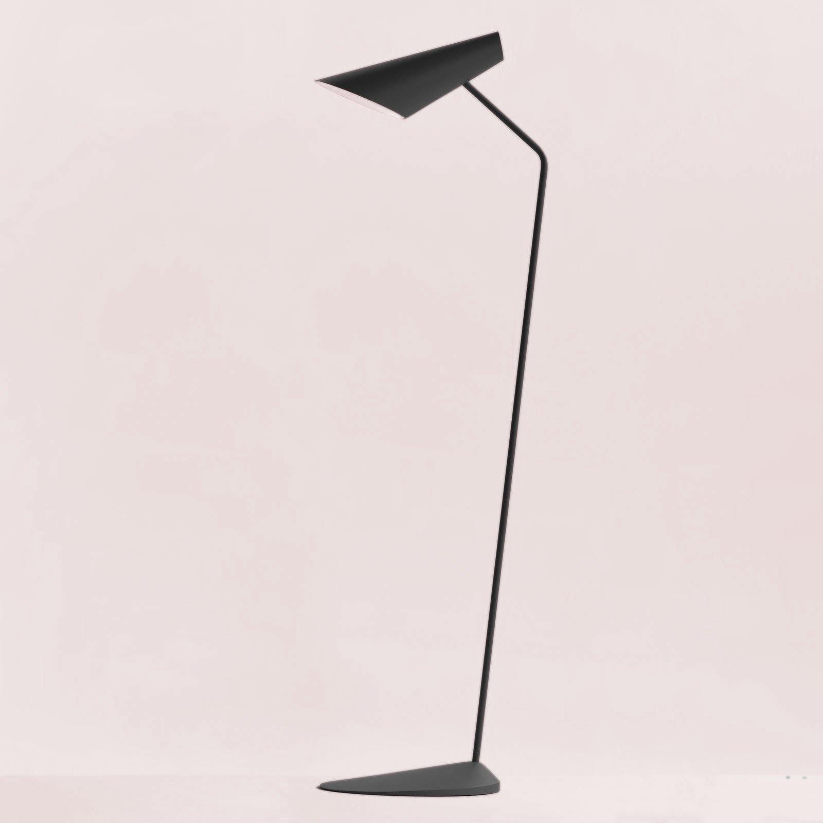 Vibia I.Cono 0712 designer-gulvlampe, grå