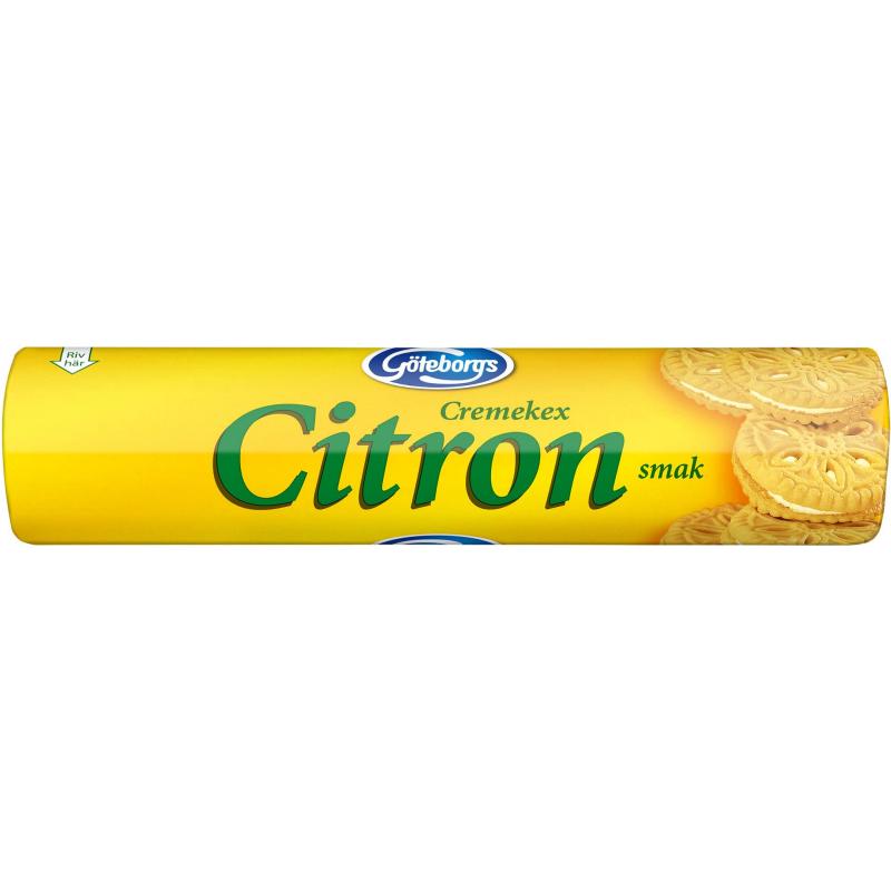 "Kex ""Creme Citron"" 175g - 20% rabatt"