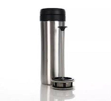 Espro Travel Presskanne Børstet stål, termo, te