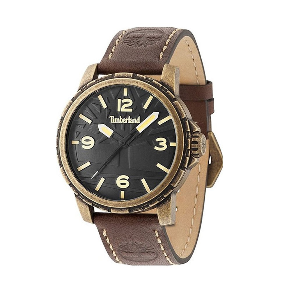 Timberland Men's Watch Brown 15257JSA - brown NOSIZE