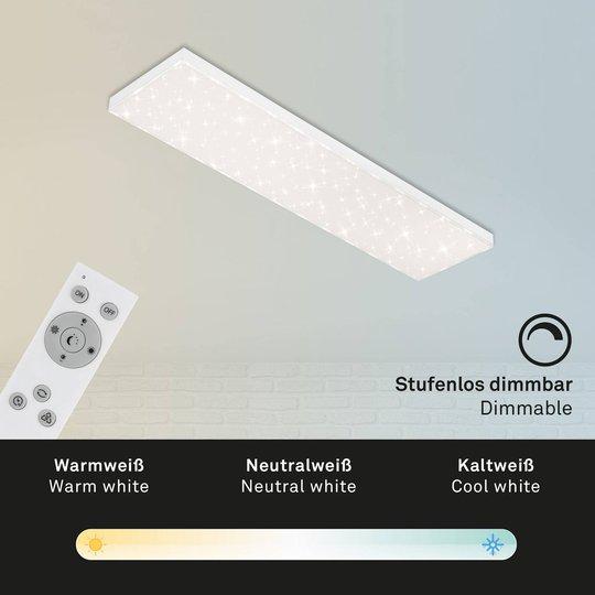 LED-stjernehimmel Frameless CCT, 100x25cm