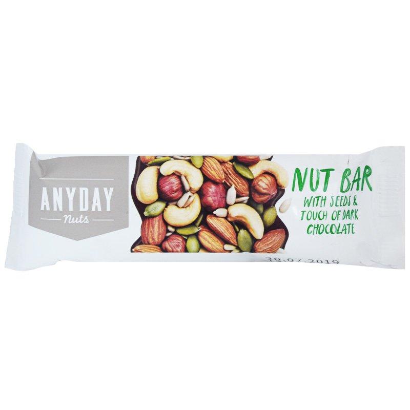 Pähkinäpatukka Seeds & Dark Chocolate - 27% alennus