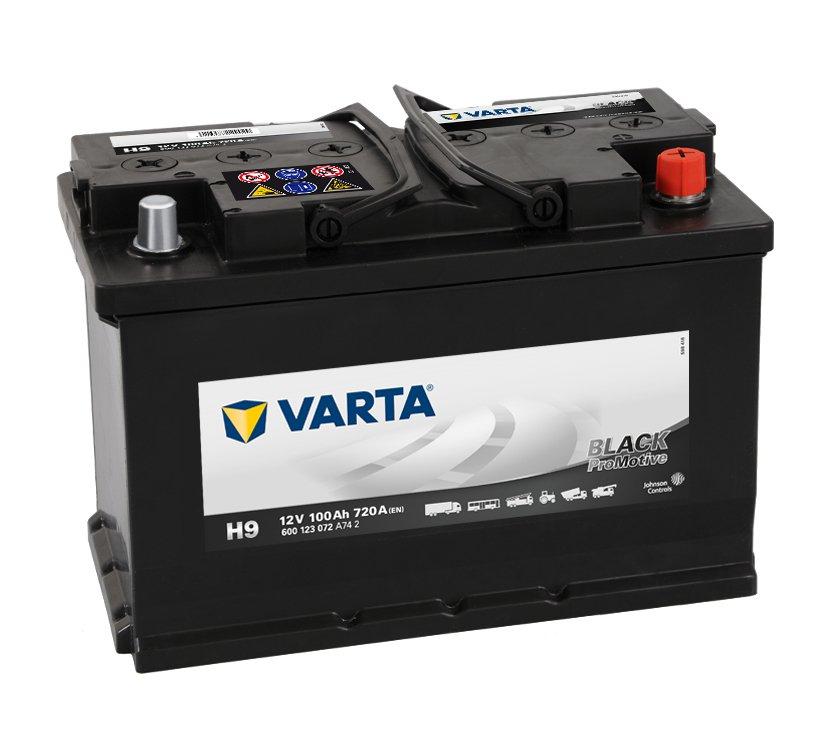 Batteri H9 PRO black VP100