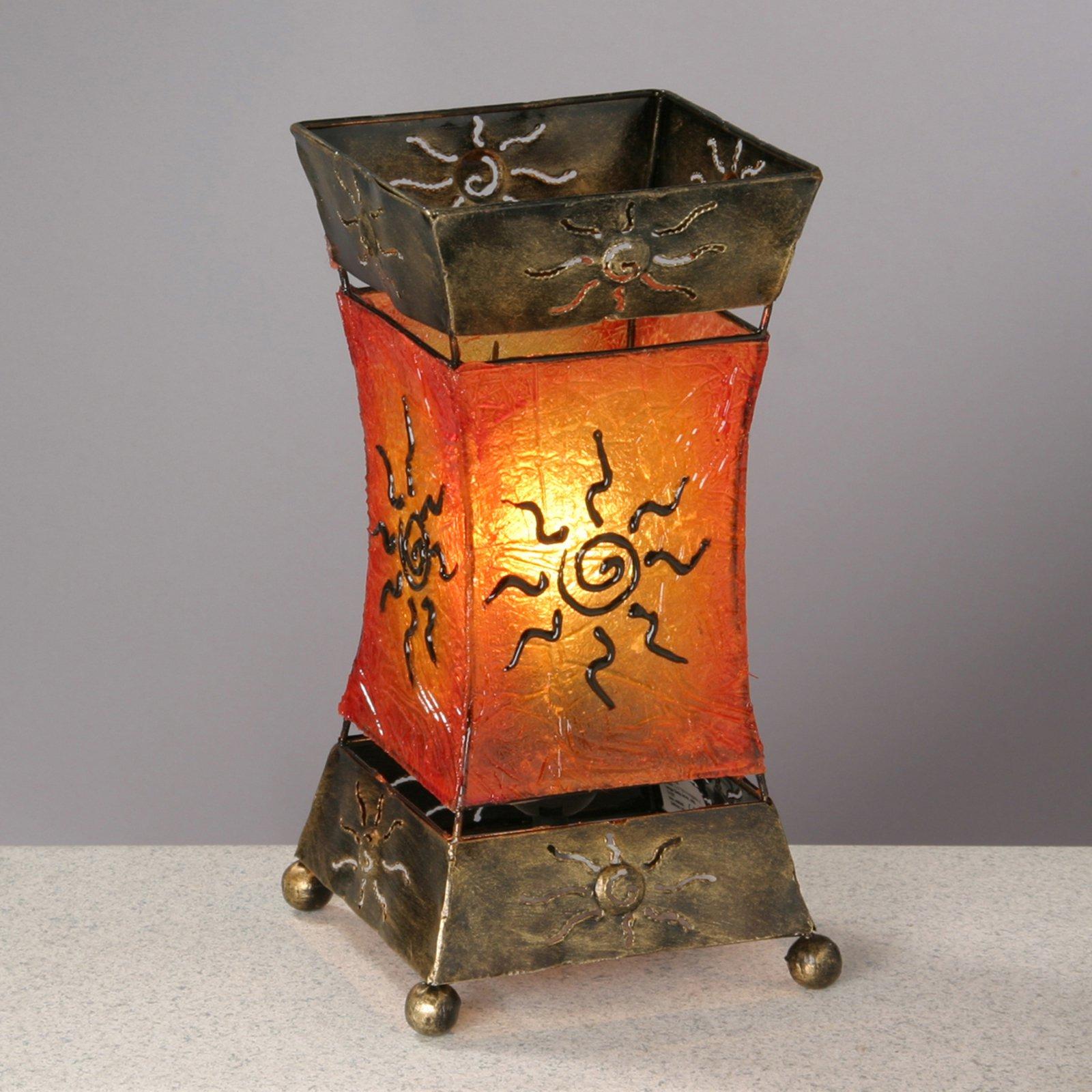Kunstnerisk bordlampe Xenia