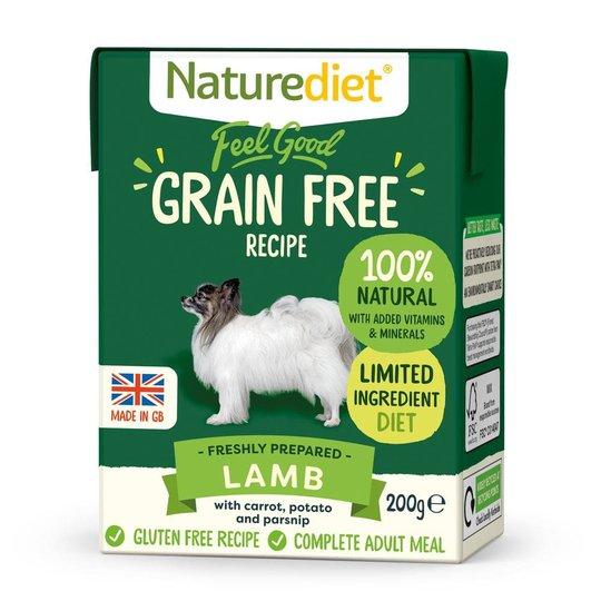 Naturediet Grain Free Lamm (200 g)