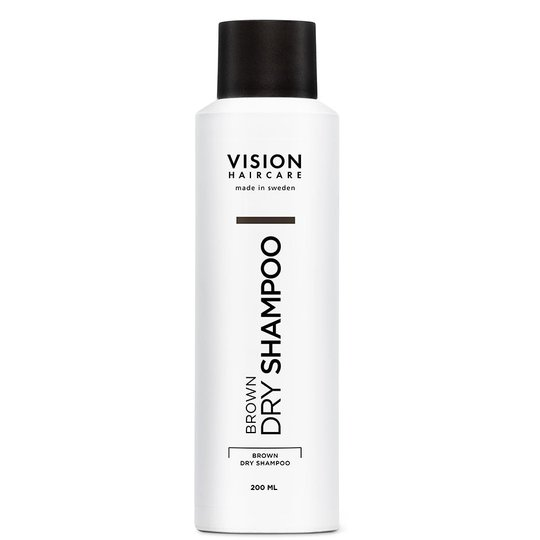 Vision Brown Dry Shampoo, 200 ml Vision Haircare Kuivashampoo