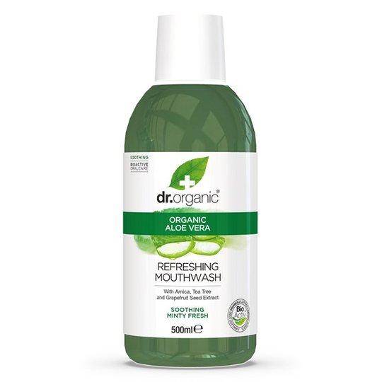 Dr. Organic Aloe Vera Mouthwash, 500 ml