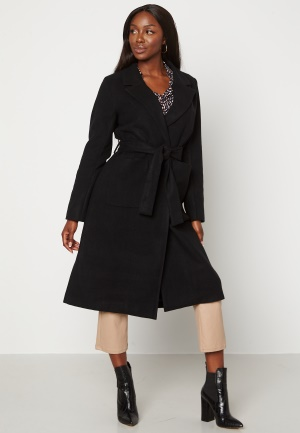 Happy Holly Claire Coat Black 46