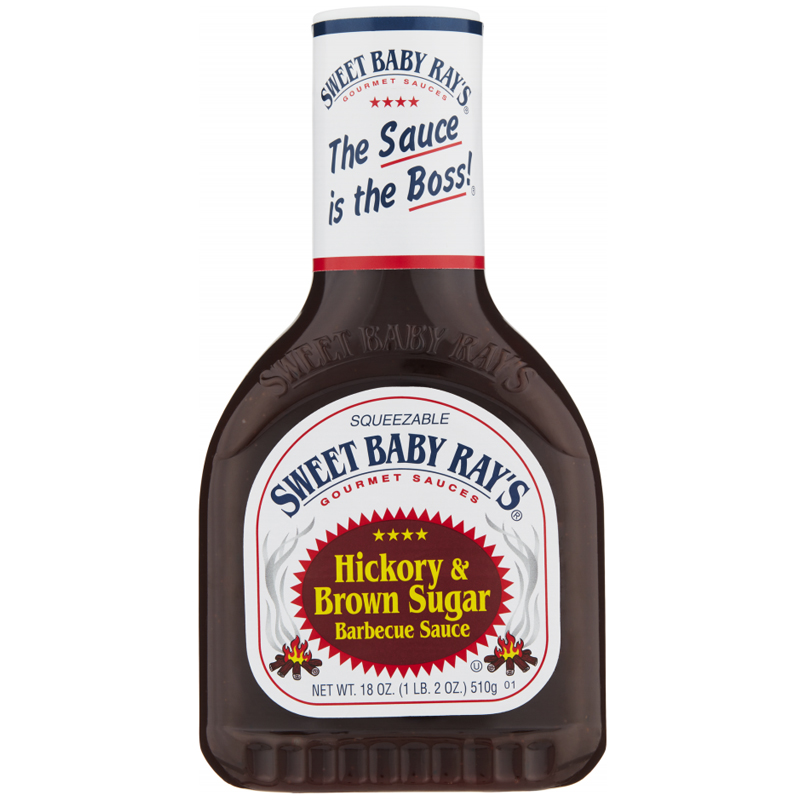 "Barbecuesås ""Hickory & Brown Sugar"" 510g - 64% rabatt"