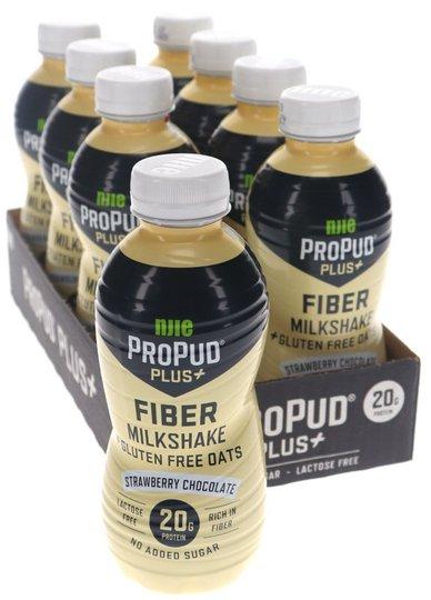 Proteinmilkshake Jordgubb & Choklad 8-pack - 50% rabatt
