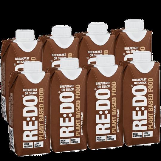 Växtbaserad Proteindryck Choklad 8-pack - 79% rabatt