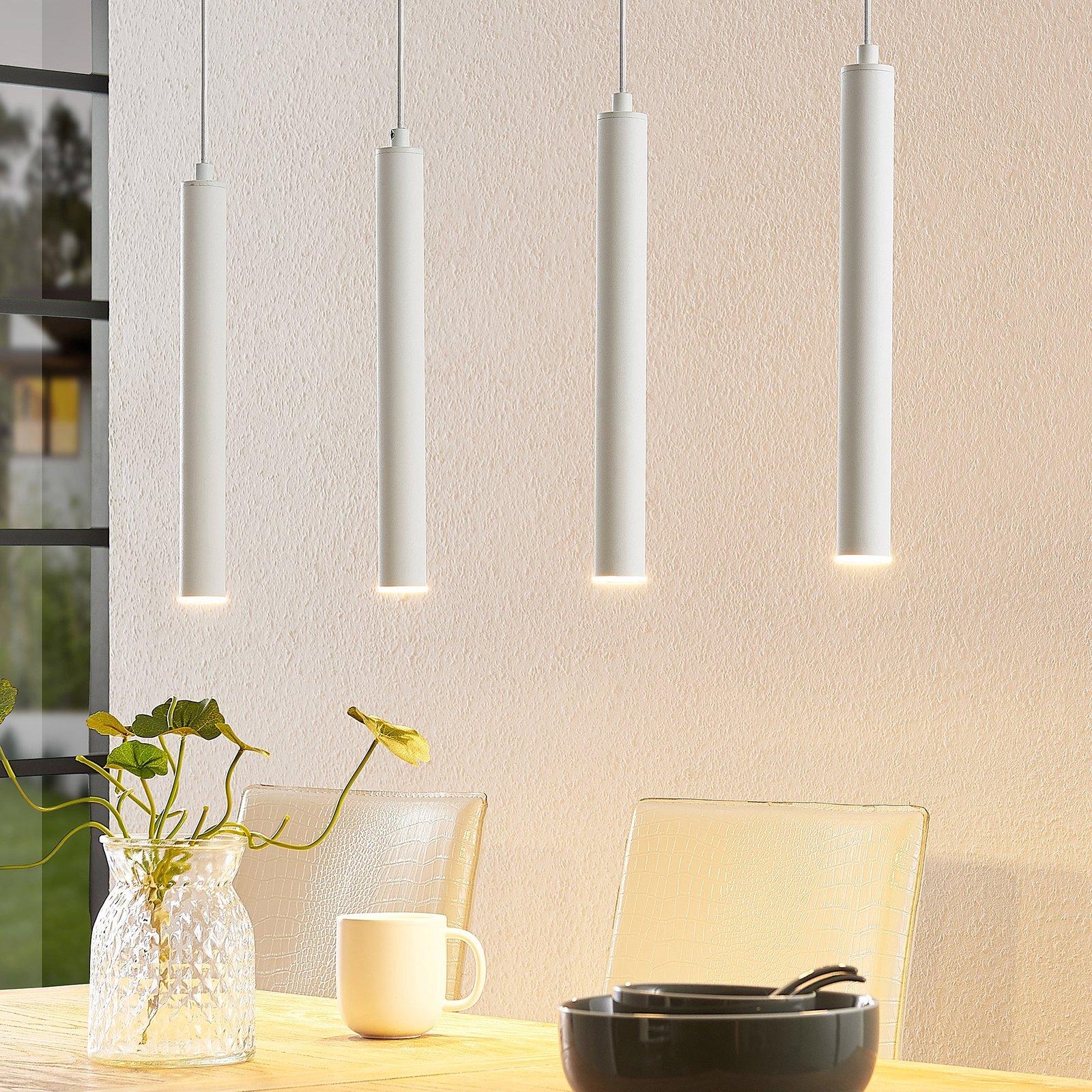 Arcchio Kammeron LED-hengelampe, hvit