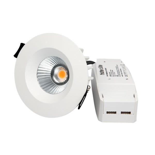 Hide-a-Lite Optic Downlight 7,5 W, hvit 2700 K