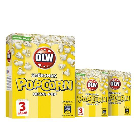 Popcorn hela året - 46% rabatt