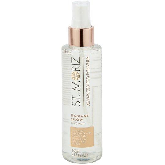 Radiant Glow Face Mist, 150 ml St Moriz Advanced Pro Itseruskettavat