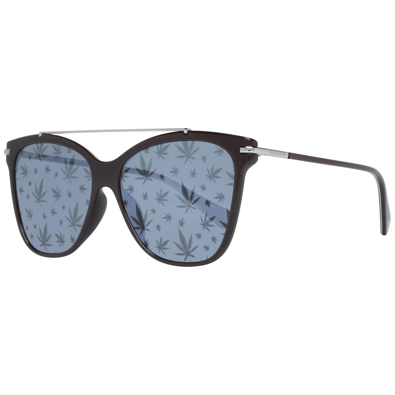 Police Women's Sunglasses Brown SPL404E556XKL