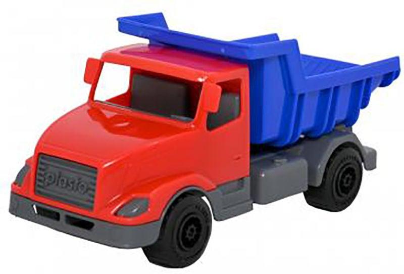 Plasto Lastbil, Röd/Blå