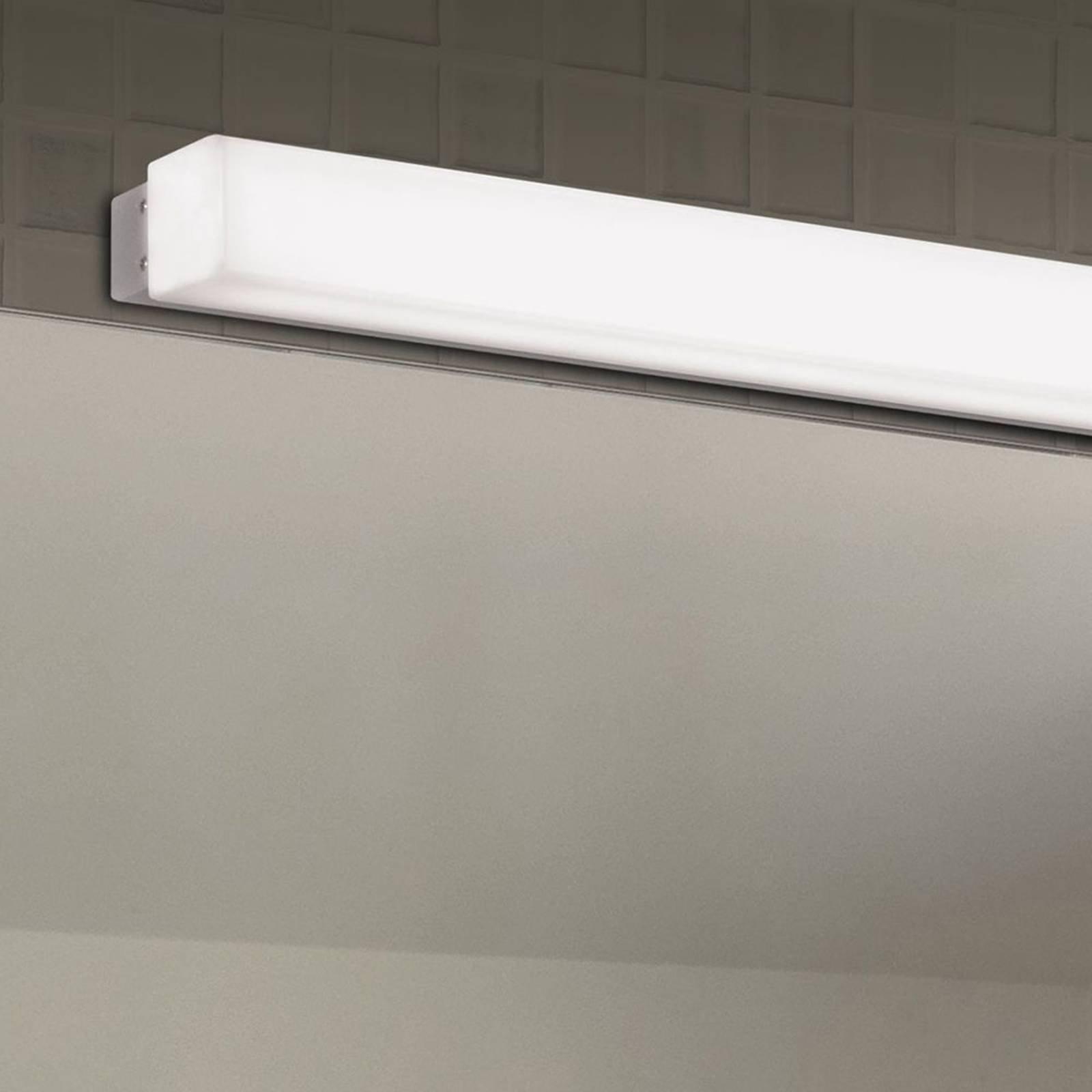 LED-vegglampe til bad Box, 3 000 K, bredde 59 cm