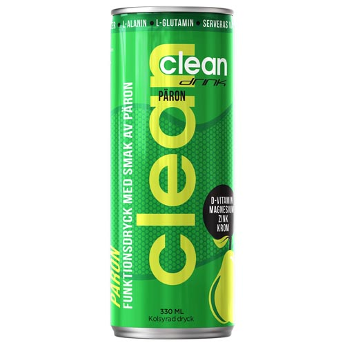 Clean Drink Päron 33cl