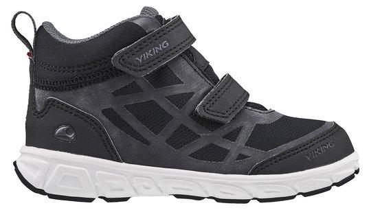 Viking Veme Mid R GTX Sneaker, Black/Charcoal, 22