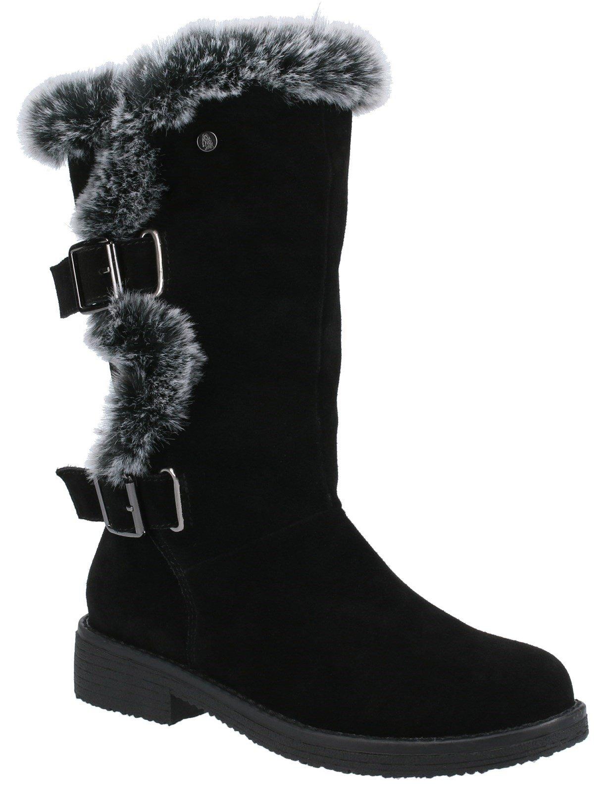Hush Puppies Women's Megan Mid Boots Various Colours 31217 - Black 3