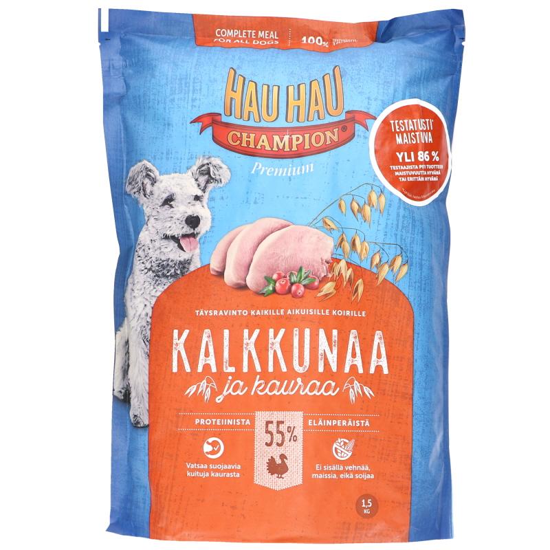 Koiranruoka Kalkkunaa & Kauraa - 55% alennus