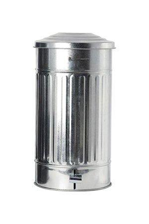 Søppelbøtte Ø 25,5 cm 24 L - Sølv