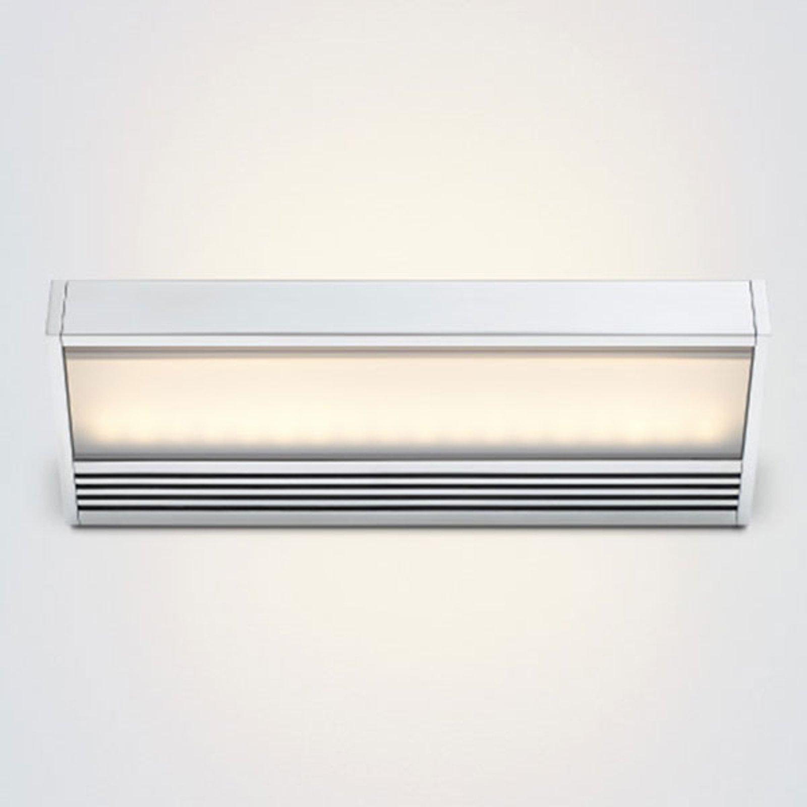 SML – LED-vegglampe i polert aluminium