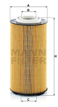 Öljynsuodatin MANN-FILTER HU 12 009 z
