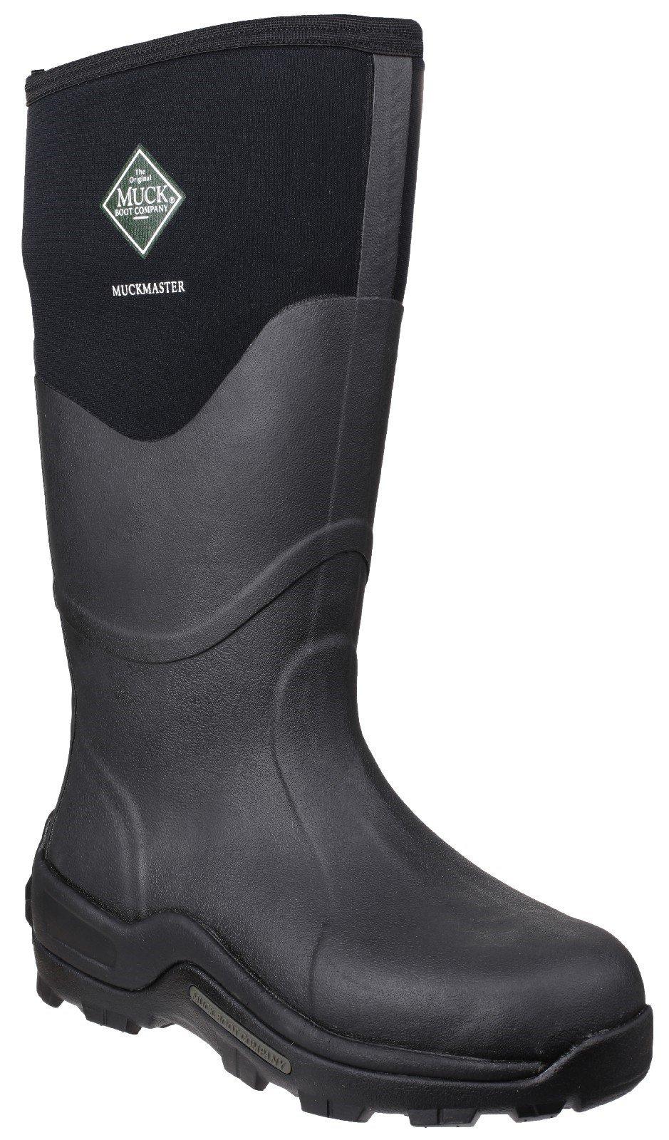 Muck Boots Unisex Muckmaster Hi Wellington Boot Various Colours 23387 - Black 4