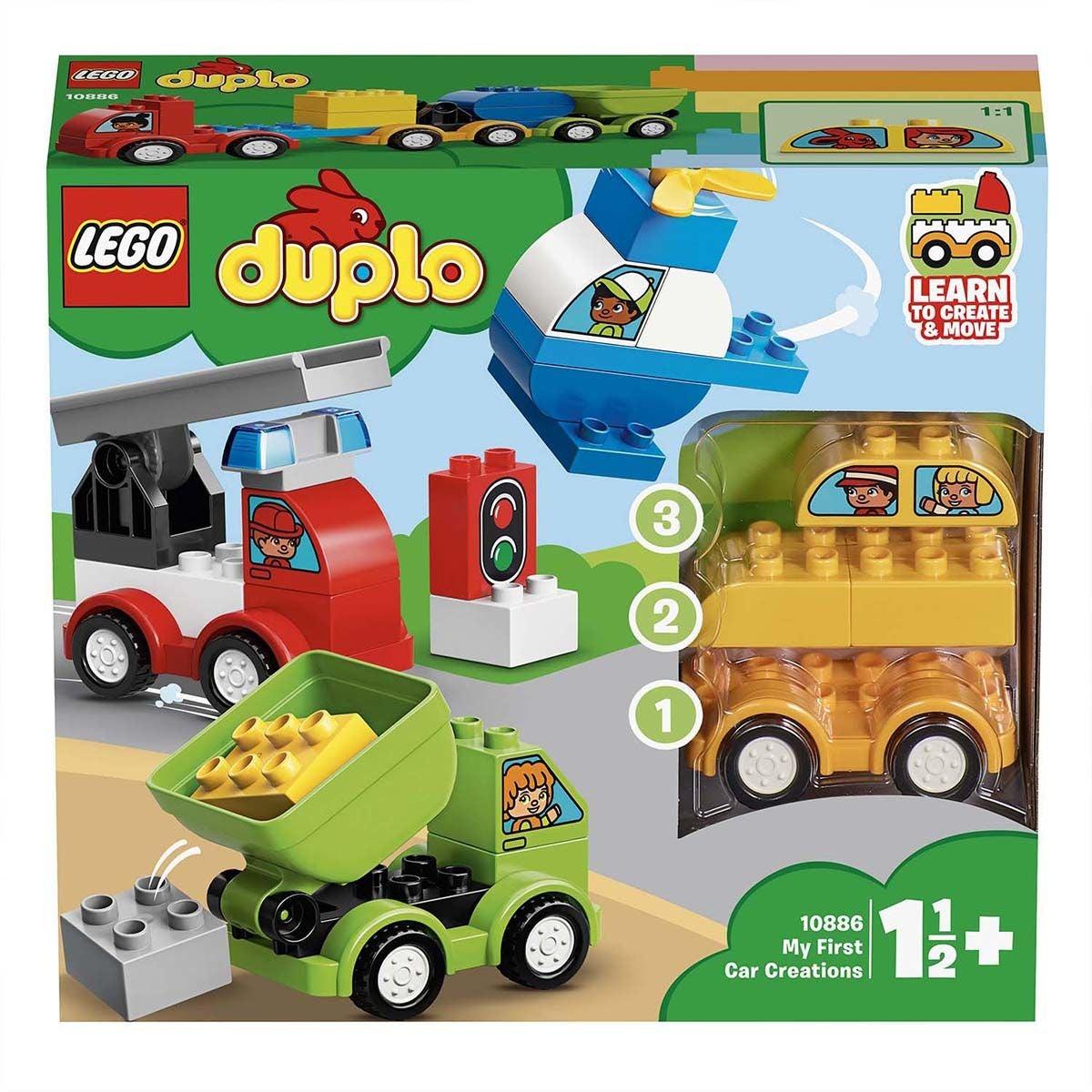 LEGO DUPLO 10886 Ensimmäiset Kulkuneuvoni