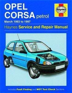 Haynes Reparationshandbok, Opel Corsa Petrol, Universal
