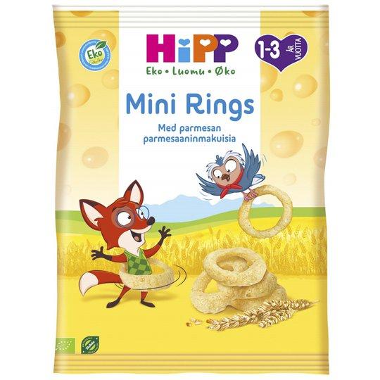 """Eko Barnmat """"Mini Rings Parmesan"""" 25g - 50% rabatt"""