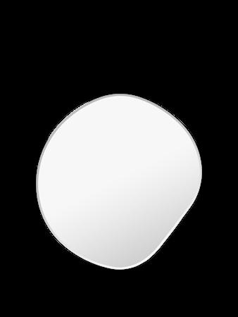 Pond Spegel Small Dark chrome