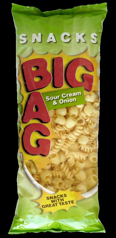 OK Snacks Big Bag Sour Cream & Onion 330g