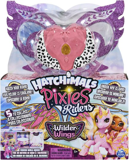 Hatchimals Colleggtibles Wilder Wings Pixie Riders