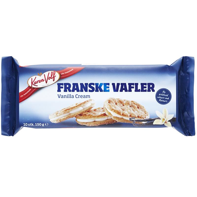 """Keksit """"Vanilla Cream"""" 150 g - 62% alennus"""