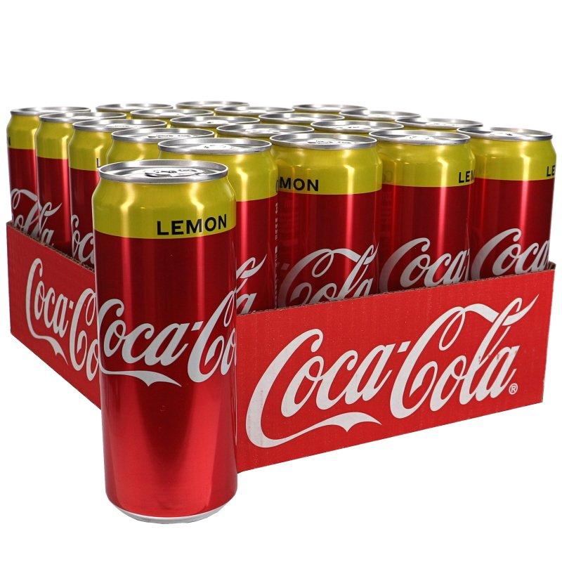 Coca Cola Lemon 20-pack - 23% rabatt