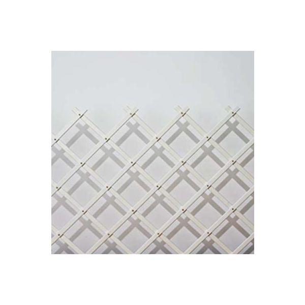 Nelson Garden 5167 Säleikkö valkoinen 45x180 cm