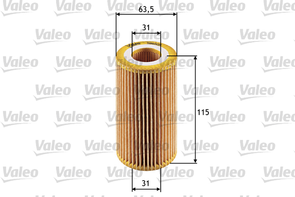 Öljynsuodatin VALEO 586505