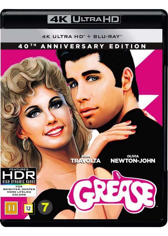 Grease: 40th Anniversary (4K Blu-Ray)
