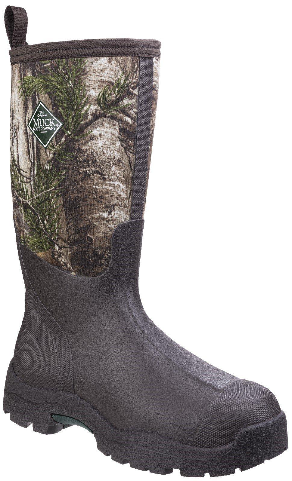 Muck Boots Unisex Derwent II All Purpose Field Boot Black 25888 - Black/Bark 4