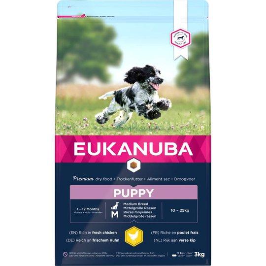 Eukanuba Puppy Medium Breed (3 kg)